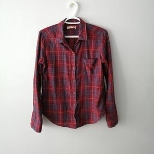 🛍️ 2 FOR $20 Hollister plaid button up